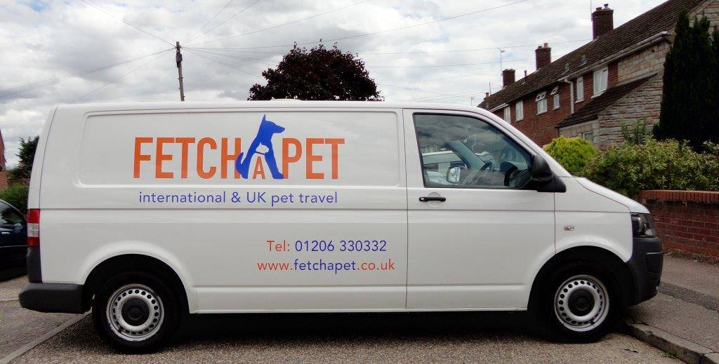 pet transport van